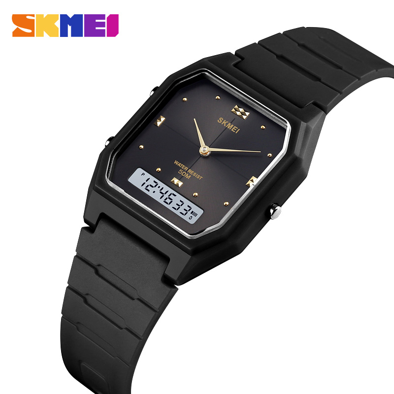 SKMEI Watch Men Outdoor Digital Sports Watches 5Bar Waterproof Alarm Clock Fashion Military Men Electronic Watch Montre Homme