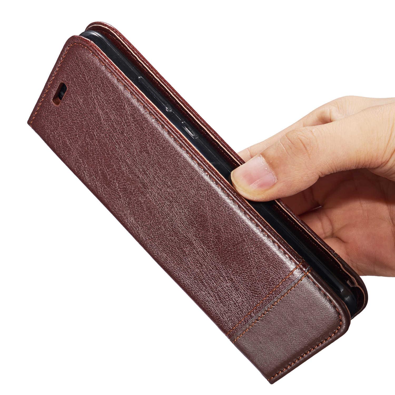 لينة محفظة جلدية بطاقة حالة فتحة فليب حامل غطاء لهواوي P20 برو لايت Y9 Y6 Y7 برو رئيس 2018 التمتع 8 8E زائد الشرف 7A 7C