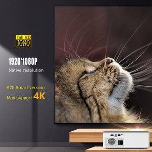 Image 2 - BYINTEK K20 Full HD 1080P 3D akıllı Android Wifi 300 inç ev sineması oyunu LED Video projektör projektör Beamer 4K sinema