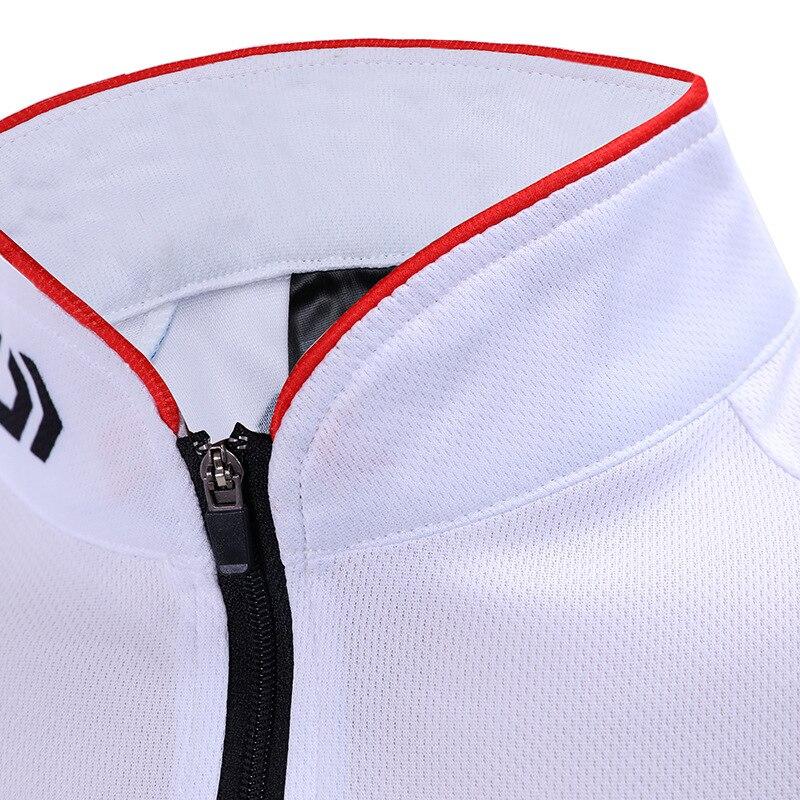 rápida respirável daiwa roupas de pesca jaqueta esportiva