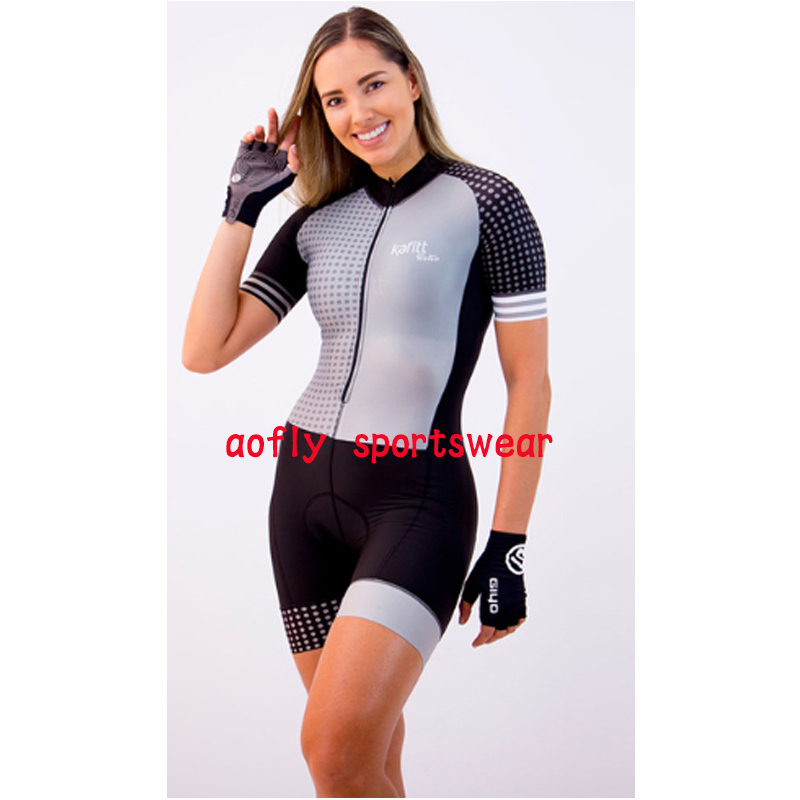 Macaquinho Ciclismo das mulheres triathlon manga curta camisa de ciclismo define skinsuit maillot ropa ciclismo bicicleta jérsei roupas ir macacão macacão ciclismo feminino kafitt conjunto ciclismo roupa de ciclismo 14