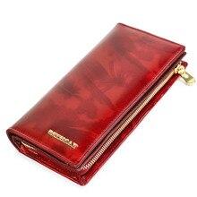 Beth cat Womens Wallet Genuine Leather Female Clutch Wallets ID Card Holder Fashion Long Ladies Purse Coin Purses Money Bag цена