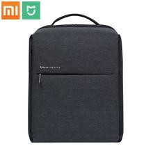 Oryginalny plecak Xiaomi Mi minimalistyczny miejski styl życia poliestrowe plecaki do szkoły Business Travel męska torba o dużej pojemności