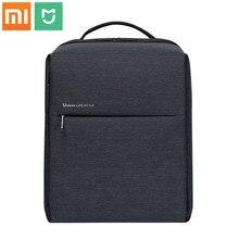 Original xiaomi mochila mi estilo de vida urbana minimalista poliéster mochilas para a escola de negócios viagem masculino saco grande capacidade