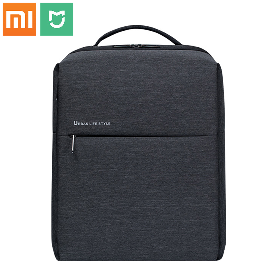 original Xiaomi Backpack Mi Minimalist Urban Life Style Polyester Backpacks for School Business Travel Men's Bag Large Capacity image