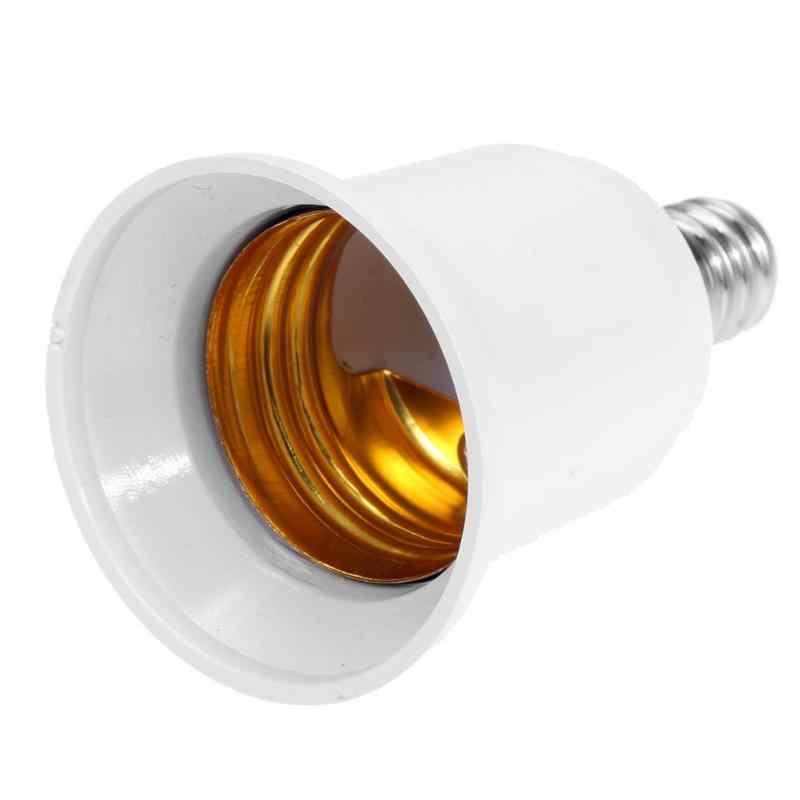 Converters E14 TO E27 LED Halogen CFL Light Bulb Lamp Adapter Fireproof Socket Plug Extender Screw Base Bulb Lamp Holder