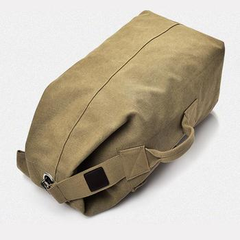 Traveling Backpack Backpack Field Survival Camping Bag High Capacity Canvas Men Outdoor Travel Outdoors Practical Picnic 2