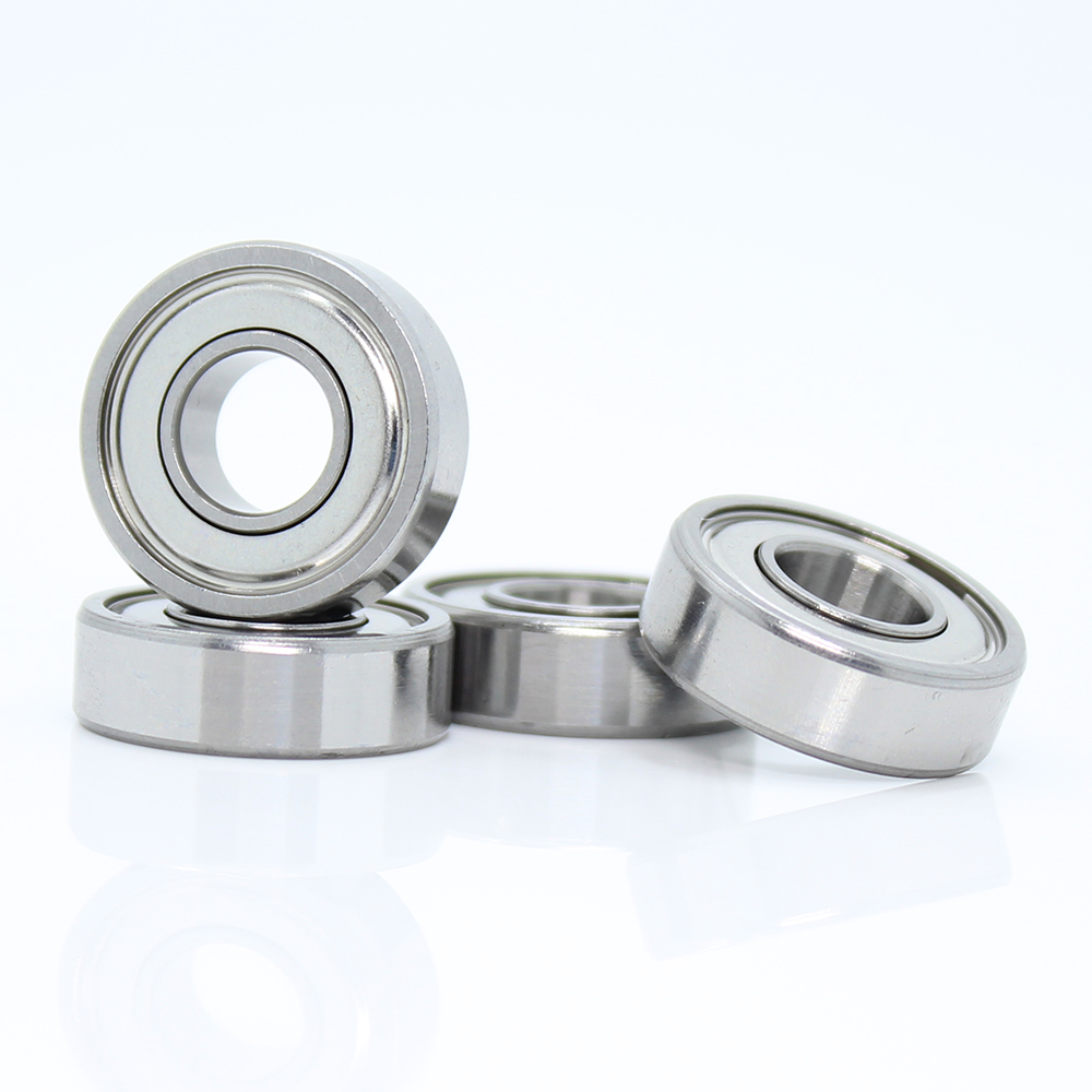 698ZZ Bearing ABEC-5 10PCS 8x19x6 mm Miniature 698Z Ball Bearings 698 ZZ EMQ Z3V3 Quality image