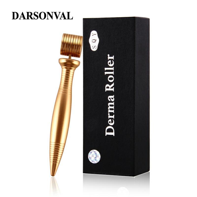DARSONVAL Metal Quality Derma Roller Micro Needles Titanium Microneedle Mezoroller Machine For Skin Care And Hair-loss Treatment