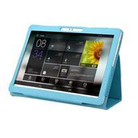 Funda de lujo para tableta PC Android de 10,1 pulgadas, Funda de cuero PU inteligente a prueba de golpes, cubierta vertical de tableta PC, funda del soporte plegable