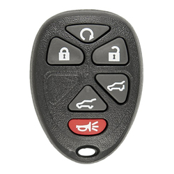 Dostęp bezkluczykowy zdalnie sterowanym samochodowym wymiana klucza dla chevroleta buicka  który używa 6 przycisków do samodzielnego programowania OUC60270|Systemy bezkluczykowe|Samochody i motocykle -