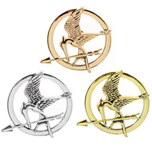 Badges Brooches Hunger Games Birds Movie Mockingjay Jewelry Alloy-Pins Funny Women's