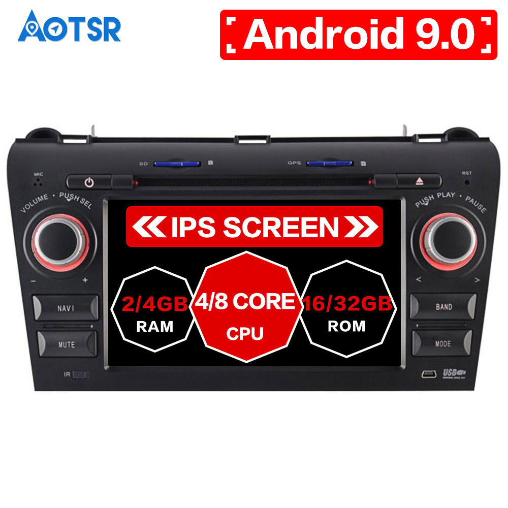 Android 9.0 Car GPS Navigation DVD Player For Mazda3/Mazda 3 2003-2009 radio recorder media player car media player car video