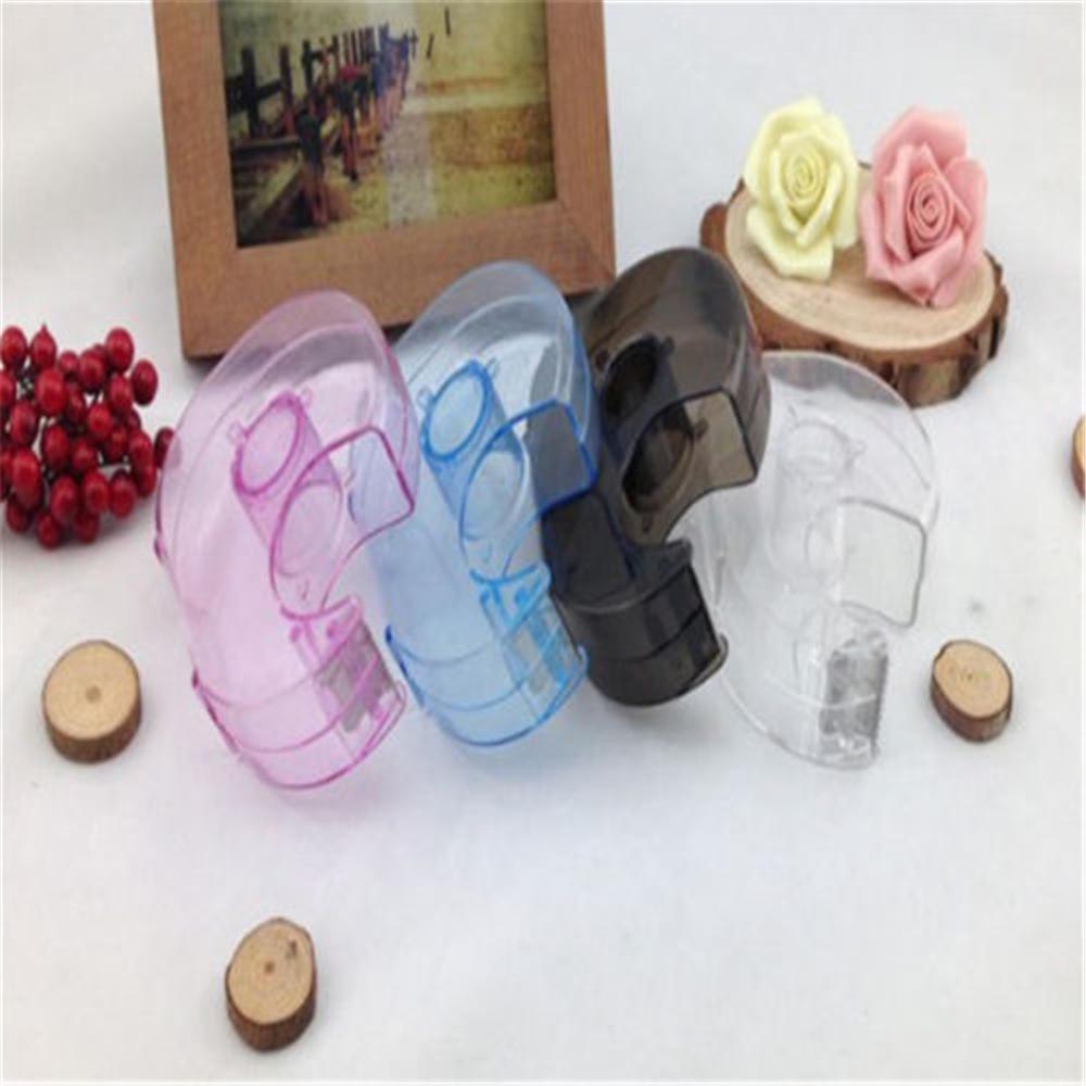 1PCS Sealing Packaging Parcel Plastic Width Tape Cutter Dispenser Random Color  Office Supplies