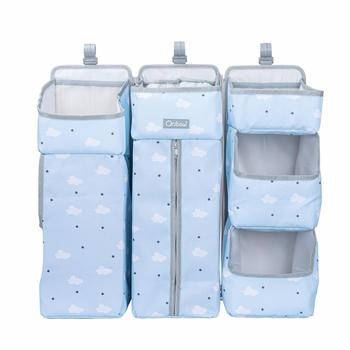 Orzbow Baby Bed Organizer Hanging Bags For Newborn Crib Diaper Storage Bags Baby Care Organizer Infant Bedding Nursing Bags 9