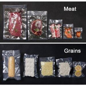 Image 5 - 100 adet mutfak gıda vakumlama makinesi çanta Sous Vide gıda tasarrufu saklama vakum paketleme torbaları mutfak aksesuarları BPA içermeyen