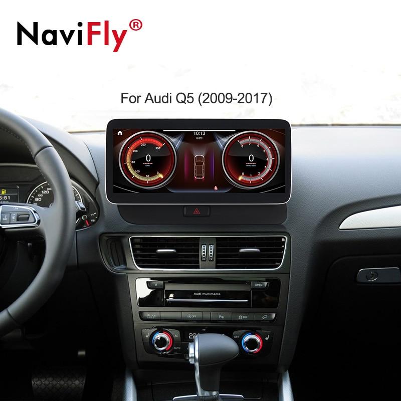 Автомобильная мультимедиа система, Магнитола на Android 12,5, с gps, Wi-Fi, для AUDI Q5 10,0, 2009, 2010, 2011, 2012, 2013, 2014, 2016, 2017,