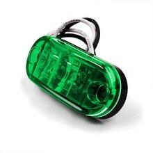 Luz de marcador lateral do caso do abs led verde impermeável 12v-24v 2.59x1.10x0.71 polegadas