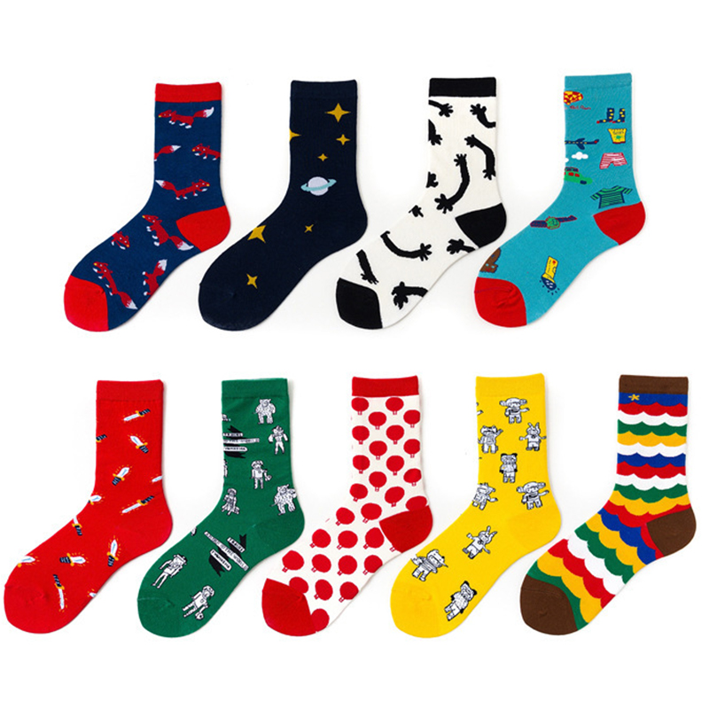 New Socks Men Tide Socks Street European And American Socks Spring And Summer Boat Socks Couple Trend Socks Men Women