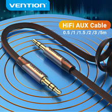 Vention Aux Cable Jack 3.5 mm Male to Male 3.5 Jack Audio Cable for JBL Xiaomi Redmi Car Headphone Speaker Cable Aux Cord 5m