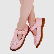 Mary jane shoes ballet flats children princess dress dancing