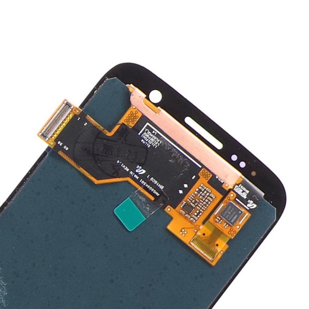 100% ORIGINAL Super AMOLED S7LCD avec cadre pour SAMSUNG Galaxy S7 G930 G930F écran tactile écran tactile numériseur remplacer - 4