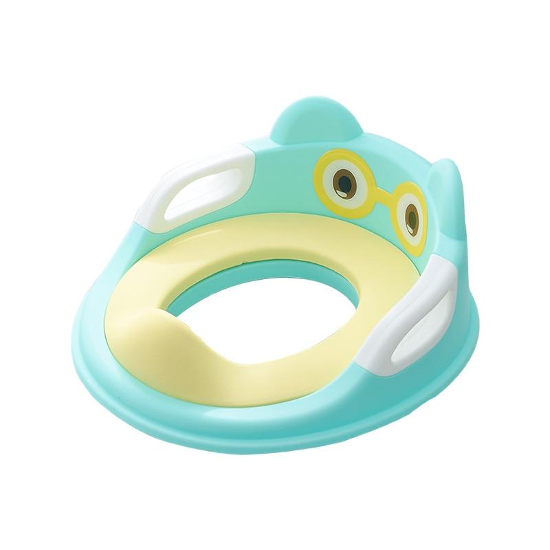 assento seguro do treinamento do potty do toalete do bebe para o miudo com bracos almofada