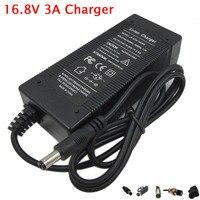 Gran oferta 16 8 V 3A 5A cargador de batería de litio utilizado para 4S 14 4 V 14 8 V  polímero de Li-ion de batterry pack envío gratis
