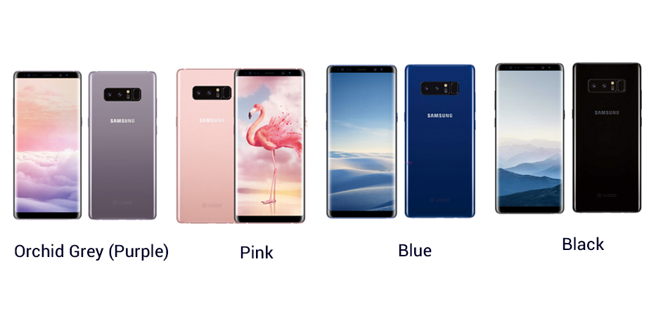 Note8 colors