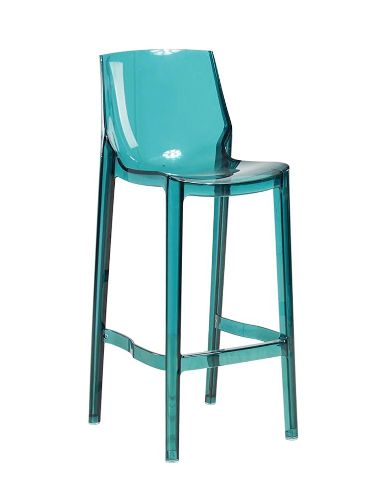 Transparent Nordic Acrylic Bar Stool Seat Table Silla Banqueta Chairs Cadeira Poltrona Taburete Sedie Sgabello Stuhl Barstool