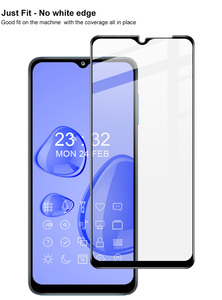 Image 3 - IMAK Full Coverage Tempered Glass Protector For Samsung Galaxy A12 5G Screen Protector Film For Galaxy A32 Anti Scratch Pro+