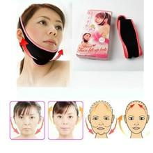 Women Face Lift Up Belt Sleeping Mask Massage Slimming Face Shaper Anti-Aging Ce