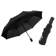 Fully Automatic Car Umbrellas for Maserati Quattroporte Ghibli Levante 3 Folding Waterproof Black Business Umbrella Car Gadgets