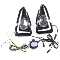 LED DRL Daytime Running Light Fog Lamp 12V Car Running Lights for Toyota RAV4 RAV 4 2016 2017 2018