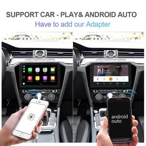 Image 4 - Isudar rádio automotivo, rádio automotivo com 4gb, android 1, para vw/volkswagen/passat b8 magotan, 2015 gps 8 núcleo ram 4gb câmera usb dvr