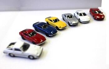 Nieuwe Mini Auto Model 1/100 Schaal Diecast Legering Auto Voor Display Kyosho