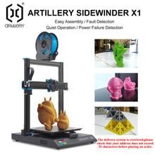 Artillerie 3d Printer Kit Sidewinder X1 SW-X1 Hoge Precisie Grote Plus Size 300*300*400Mm Dual Z as Tft Touch Screen