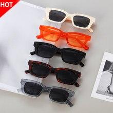 Gafas de sol rectangulares de estilo Retro para Conductor, lentes de sol de estilo Retro con marco cuadrado estrecho de los 90, gafas de conducción con protección UV400