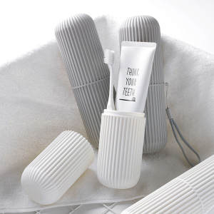 Toothbrush-Holder Case Toothpaste-Storage-Box Health-Organizer Plastic Travel Portable