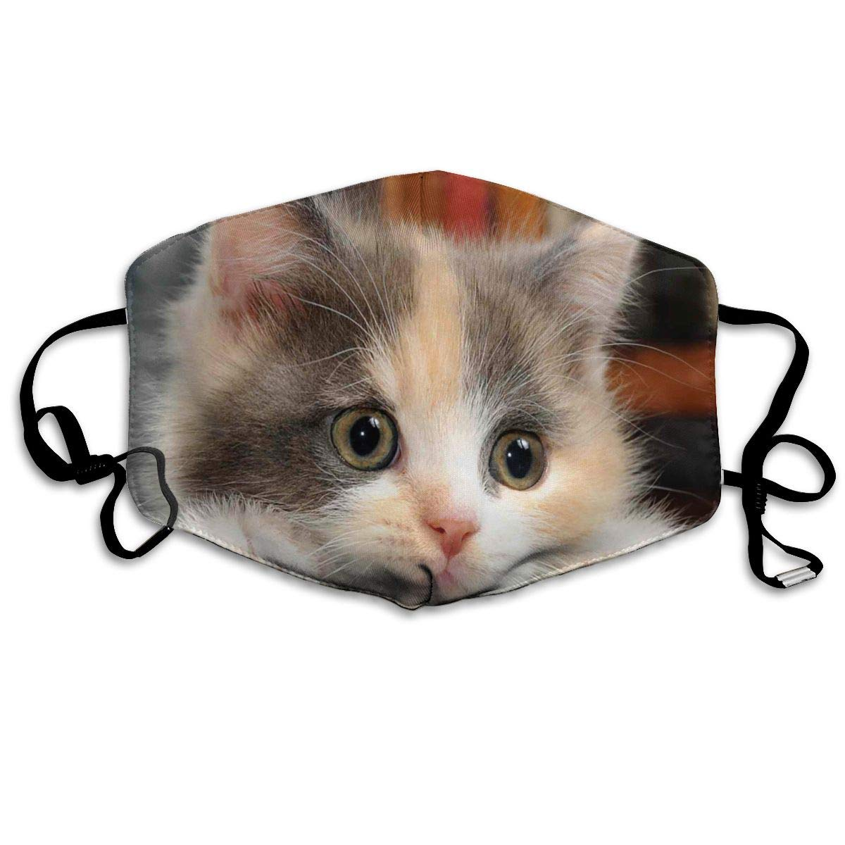Face Masks Anti-Dust Mouth Cover Cool Cute Baby Cat Kitty Face Funny Animal Washable And Reusable Mask Warm Windproof For Women