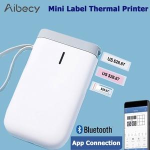 Image 2 - D11 طابعة التسمية اللاسلكية المحمولة جيب تسمية الطابعة المحمولة BT اتصال الطباعة السريعة للمنزل مكتب impresoras