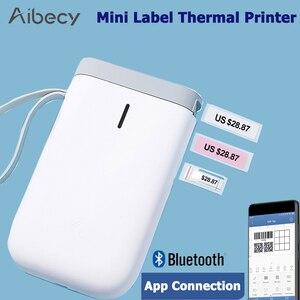 Image 2 - Impresora de etiquetas inalámbrica D11, portátil, de bolsillo, conexión BT, impresión rápida para el hogar y la Oficina