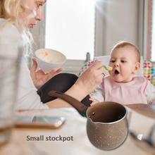 9 см, 10 см, 11 см, эмалированная Мини-Сковорода для молока, один горшок с керамическим покрытием, антипригарная плита, дополнительная пищевая сковорода для супа, маленькая кастрюля для тушения