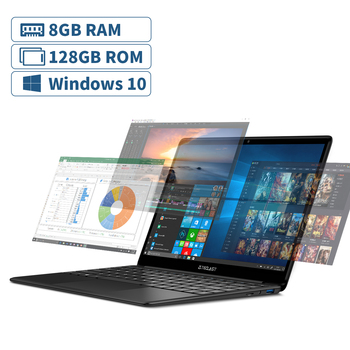 Teclast F6 Laptop 13.3 Inch FHD IPS 1920×1080 Intel Apollo Lake Windows 10 Notebook 8GB LPDDR4 128GB SSD Dual Wi-Fi 4