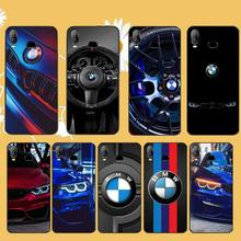PENGHUWAN Famous Car BMW TPU Soft Silicone Phone Case Cover