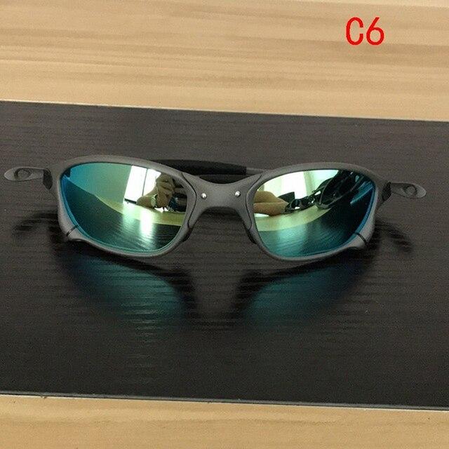 Polarizado esporte ciclismo óculos de bicicleta ao ar livre óculos de sol uv400 lente polarizada CP005-5 6