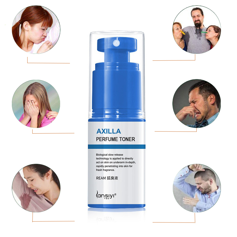 New Sweat Body Odor Removal Natural Underarm Odor Removal Deodorant Water Deodorant Antiperspirants Spray 30ml 3