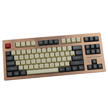 Top Print Thick OME Mechanical Keyboard Pbt Keycap For Standard ANSI 61 TKL 108 Cherry Mx Gh60 Motospeed Teclado Gamer Keycaps keycaps 60 pbt inside printing ingraved for gh60 poker mechanical gaming keyboard keycaps
