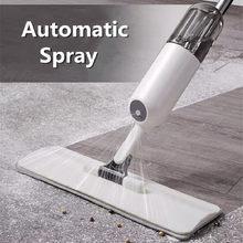 Serpillière à Spray avec serpillère, outils de nettoyage à plat pour le sol, tampons de carrelage paresseux, offre Wonderlife_aliexpress Store