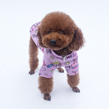Puppy Dog Clothes Warm Outfit Pet Jacket Coat Winter Dog Clothes Soft Sweater Clothing For Small Dogs Chihuahua Cat Dog Clothes image